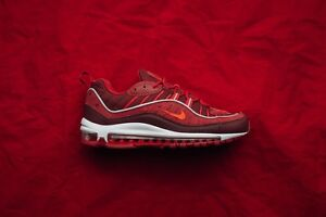 Details about Nike Air Max 98 SE size 12.5. Team Gym Red. Triple Red. AO9380 600. 95 97
