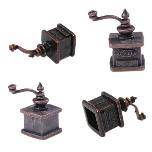 1//12 Dollhouse Miniature Kitchen Vintage Coffee Grinder For Doll Gift/_WK