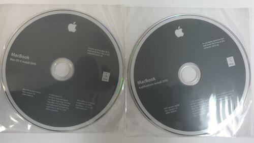MacBook OS 10.6.3 Install DVDs