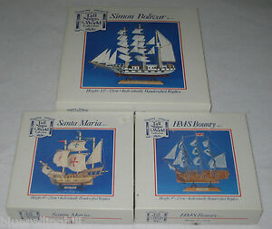 3 Tall Ships of the World Collection, Simon Bolivar, Santa Maria, HMS Bounty