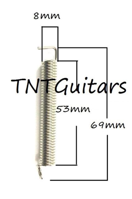 LIGHT Tension SET of 3 Guitar Bridge Tremolo TREM SPRINGS
