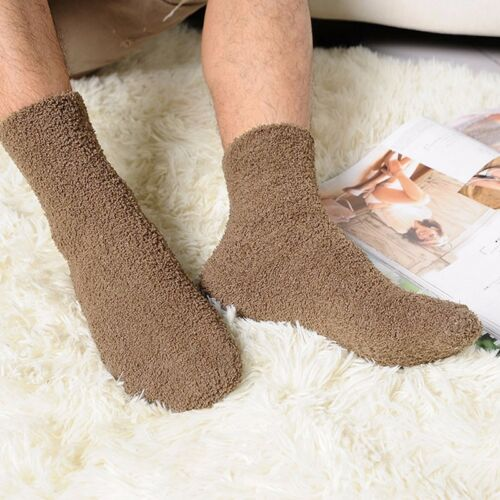 Extremely Cozy Cashmere Socks Women Mens Winter Warm Sleep Bed Floor Home Fluffy