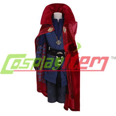 6f28fe8314 kids boy size Avengers Doctor Strange Dr.Steven Vincent Strange cosplay  costume | eBay