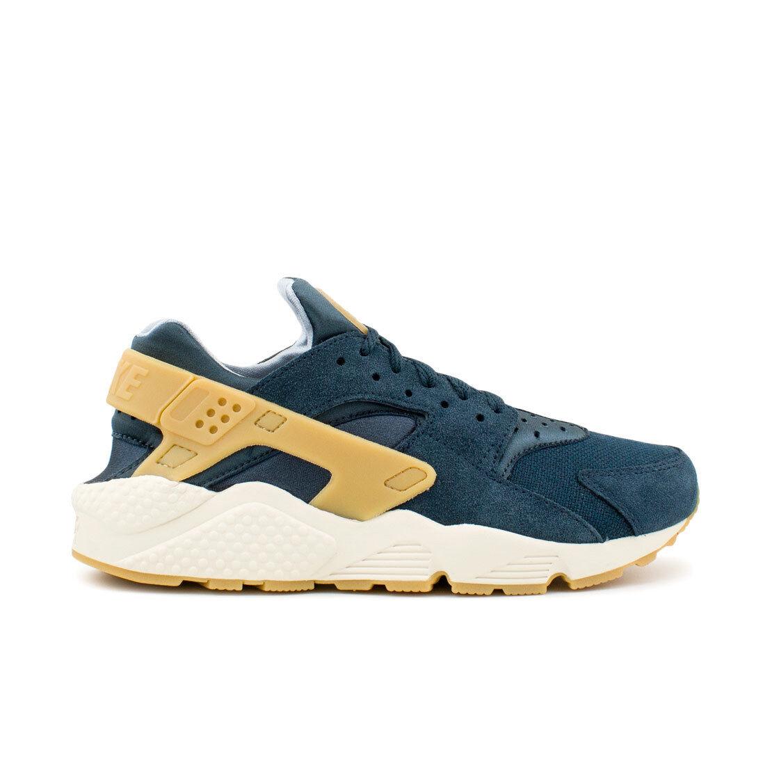 Nike Air huarache Run beige se zapatillas Azul Bianco beige Run 852628 401 3b2d76