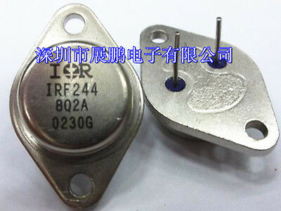 10PC IRF244 Encapsulation:TO,14A and 13A, 275V and 250V, 0.28 and 0.34 Ohm QY ZX