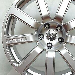 MTM-Bimoto-Felge-8-5x19-5x112-ET50-Shiny-Silber-Rad-Alufelge-Audi-VW-Seat-Skoda