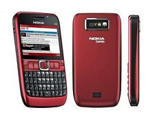 Nokia E63 Mobile - RED ! QWERTY ! GSM ! FM ! Call Recording ! Camera