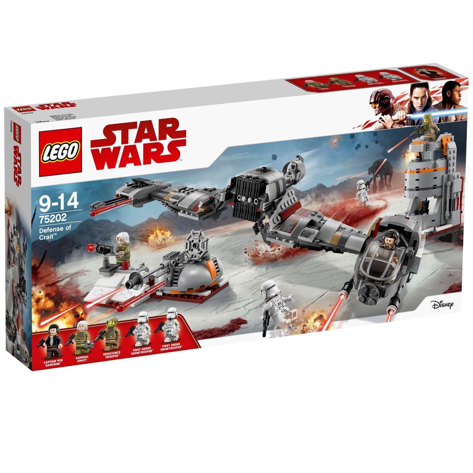 LEGO ® Star Wars  ™ 75202 Defense of CRAIT ™  en ligne pas cher
