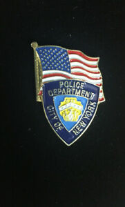 LAPEL PIN NYPD CITY OF NEW YORK POLICE DEPARTMENT