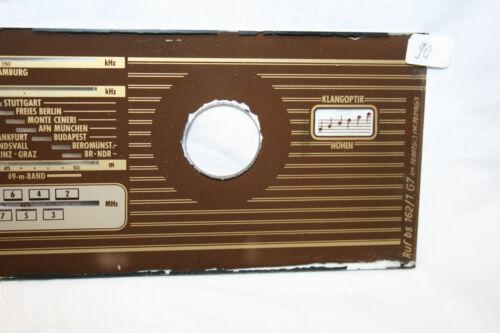 Skala Dial glass für mittlere und große Röhrenradio Skalenglas