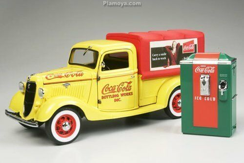 Coca cola danbury mint 1935 Ford Recolección de entrega Nueva con caja embalaje cargo 1 24