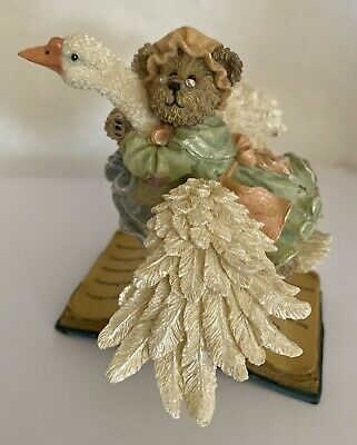BOOTS WITH HIS MAJESTY* NIB Resin Figurine 3E BOYDS BEARS /& FRIENDS *PUSS N