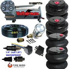 480C Air Compressor Ride Kit 200psi rate all pictured 2500/2600 Airspring bags