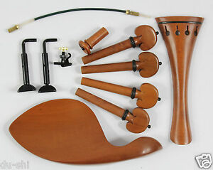 Elaborate-Violin-Parts-4-4-Boxwood-Pegs