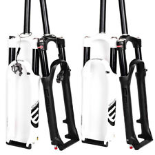 """Suntour Epixon 140 mm air MTB mountain bike suspension Forks 26/"""" Lock Out Lo Wht"""