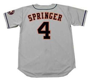 huge selection of 358e3 1d8be Details about GEORGE SPRINGER Houston Astros Majestic Away Baseball Jersey