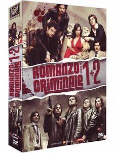 ROMANZO-CRIMINALE-STAGIONE-1-2-DVD-8-Dvd-COFANETTO-UNICO-ORIGINALE-SIGILLATO