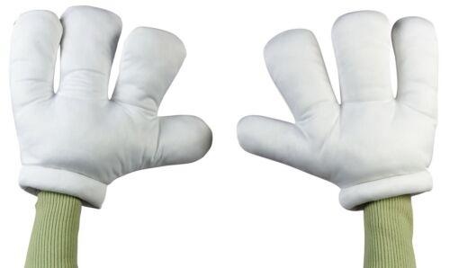 Adult Cartoon Hands Mario Mickey Costume Accessory