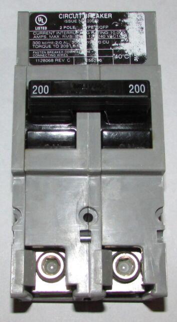 MILBANK UQFP-150  2 Pole 150 Amp Plug-In Circuit Breaker New In Box