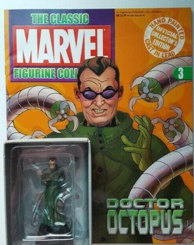 Classic Marvel Figurine Collection nº 3 docteur octopus Magazine