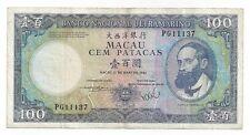 MACAO MACAU 100 PATACAS 1984  P 61 b