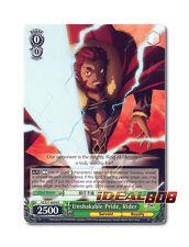 Weiss Schwarz Fate/Zero x 1 Unshakable Pride, Rider [FZ/S17-E034 R] English