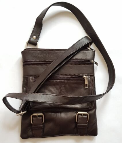 Men-Women Real Leather stylish Shoulder Bag premium quality very practical