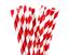 100-Kraft-Paper-Drinking-Straws-Red-Strong-3-ply-Cafe-Take-Away thumbnail 1