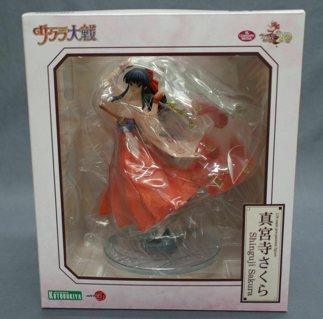 ARTFX J Sakura guerras Sakura Shinguji 1  8 Kotobukiya Japan nuovo  acquista marca