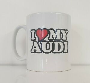 Printed Mug I LOVE HEART MY MITSUBISHI Novelty Owners Tea Coffee Gift Present
