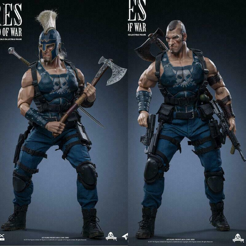 Art Figures Ai-4 AIDOL 4 The God of War Ares 1 6 Action Figure Model