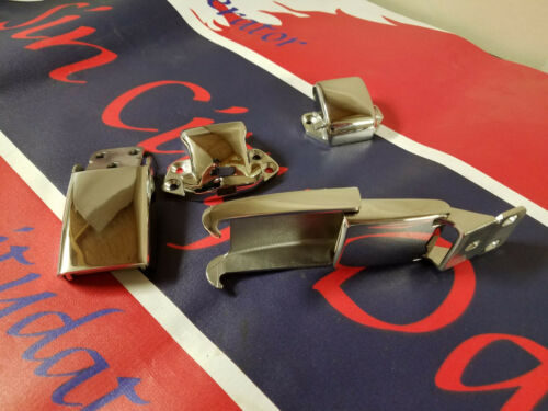 NEW! Datsun Roadster 1968 to 70 Stainless Steel soft top or hard top latches