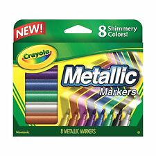 Crayola Metallic Markers 8 Count 787793946479