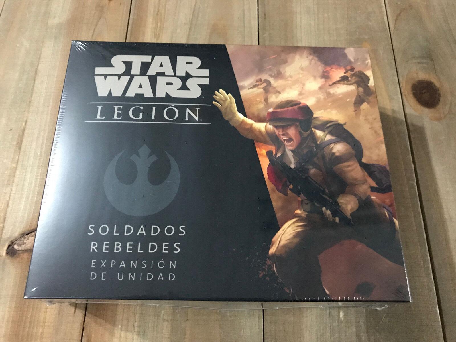 Star - wars - legion - soldaten rebeldes - - - miniaturen - versiegelt - ffg f969dc