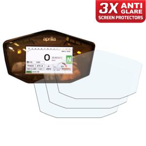 Tacho Displayschutzfolie Entspiegelt 3 x Aprilia RSV4 2017