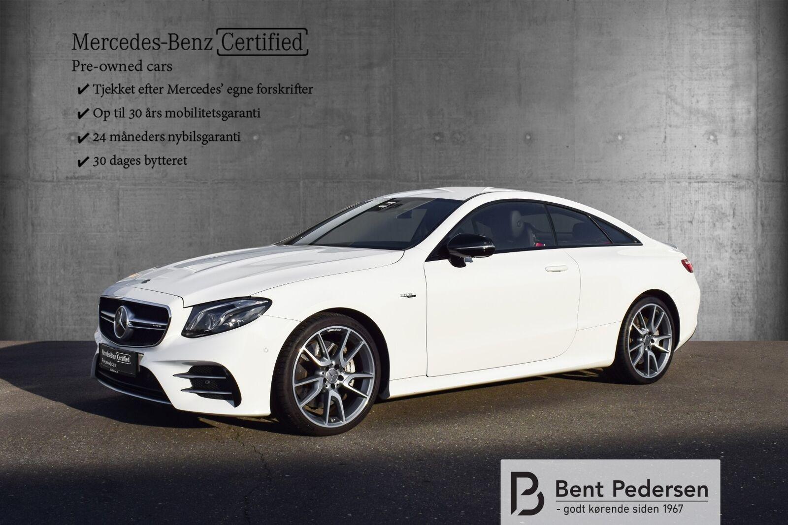 Mercedes E53 3,0 AMG Coupé aut. 4-M+ 2d - 999.900 kr.