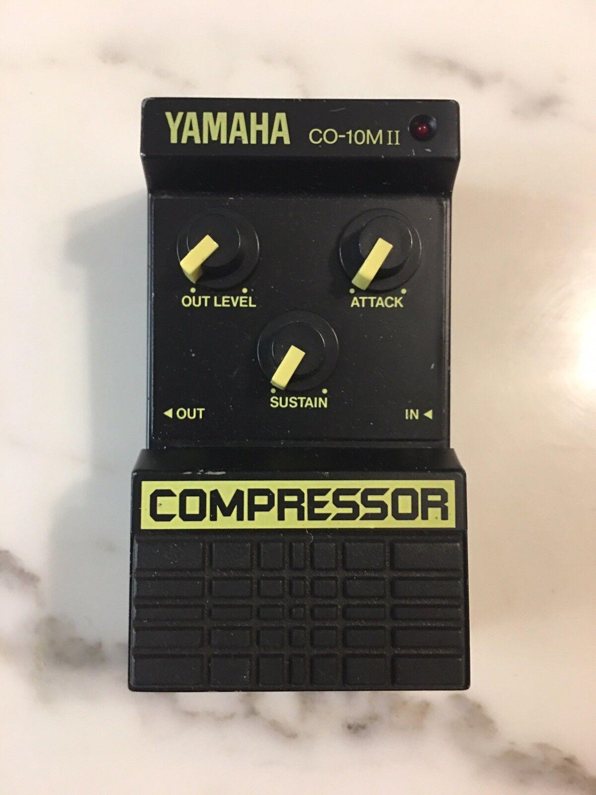 Yamaha CO-10MII Compressor Sustainer Rare Vintage Guitar Effect Pedal MIJ Japan