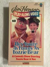 Jim Henson's Play-Along - Hey, You're As Funny as Fozzie Bear (Prev. Viewed VHS)