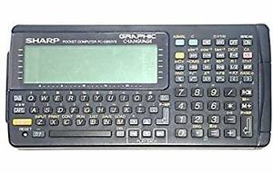 SHARP-Pocket-computer-G850VS-Function-Calculator-PC-G850vs-VINTAGE-Japan