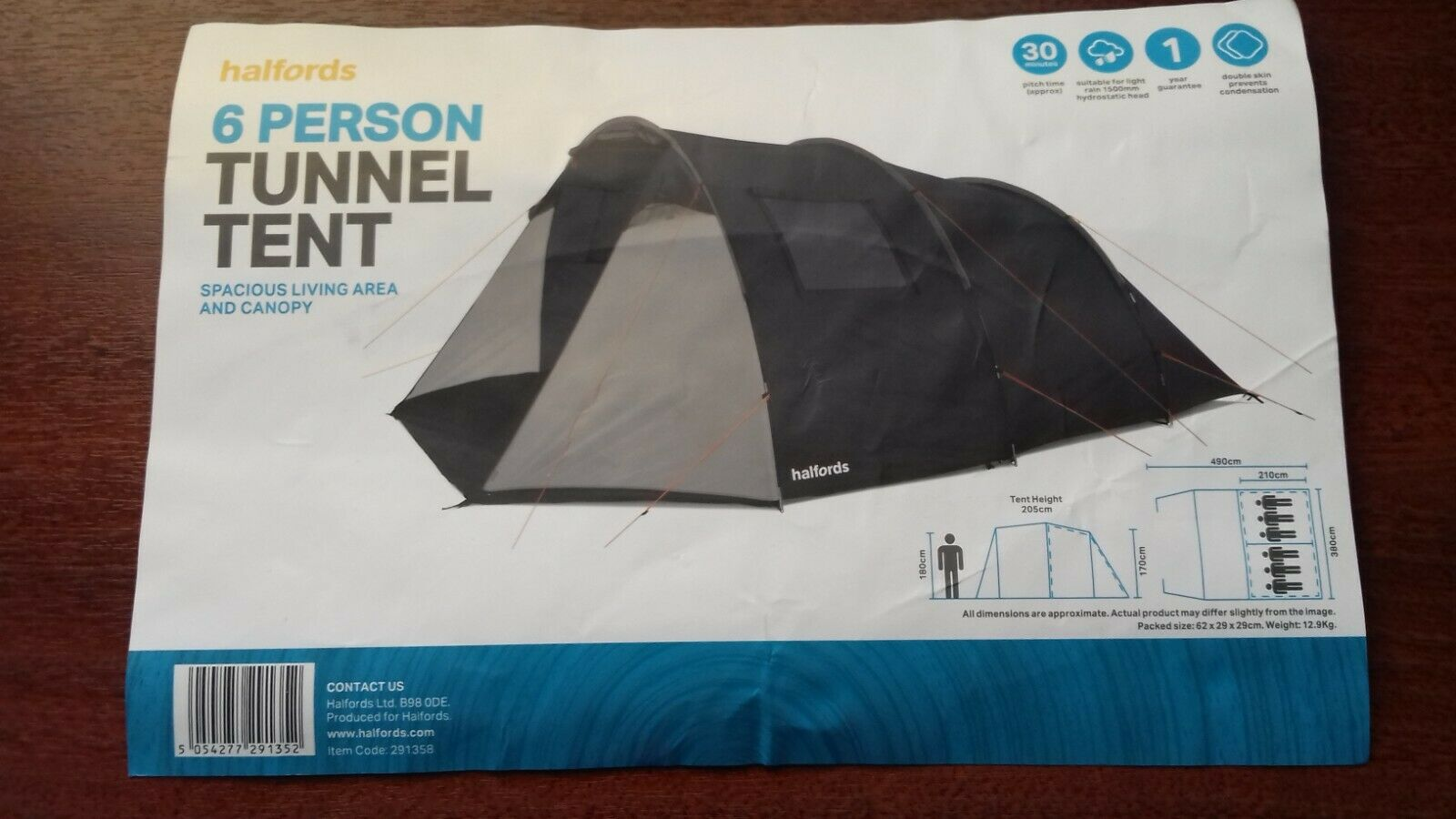 TENT AND CAMPING EQUIPMENT ( USED ONCE ONLY ) EXCELLENT CONDITION inc more items