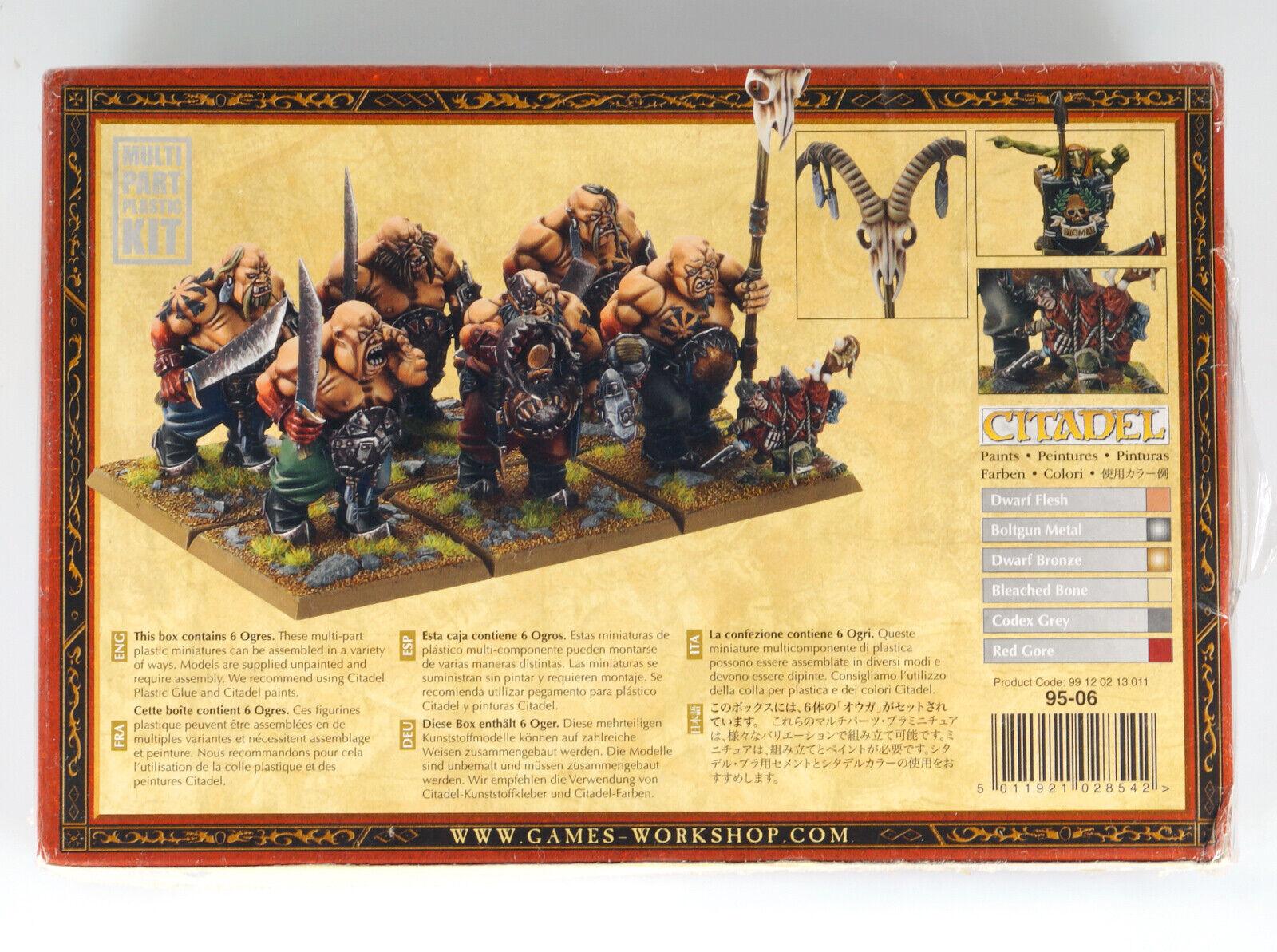 GAMES WORKSHOP 95-06 KIT KIT KIT OGRES OGROS OGER OGRI WARHAMMER FANTASY e3d923