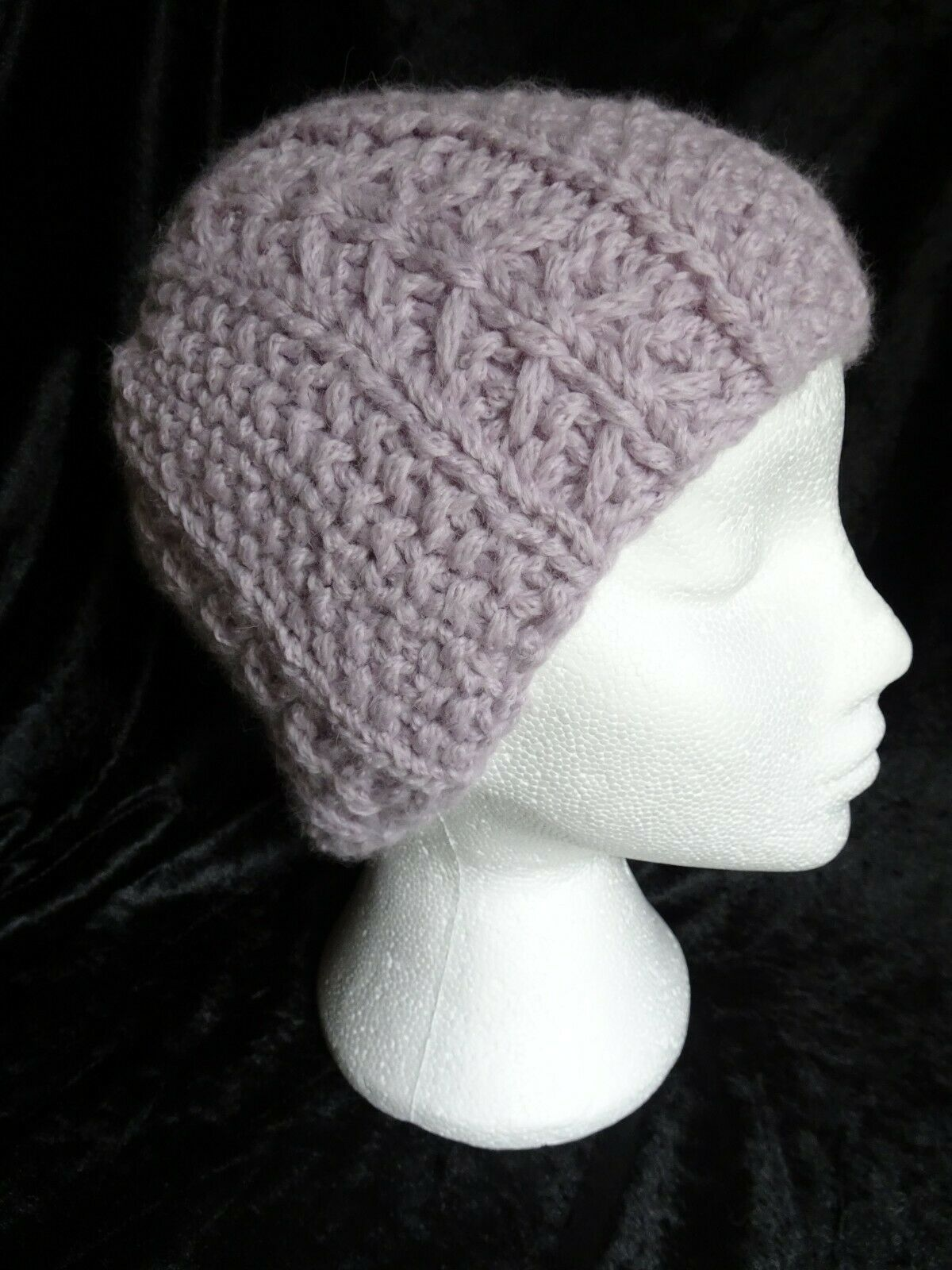 Luxury Hand Knitted Extra Soft Baby Alpaca Beanie Hat & Scarf Set, Great Gift