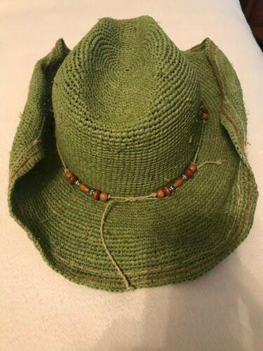 TRUE RELIGION Cowboy Hat Women's S Western LOGO St