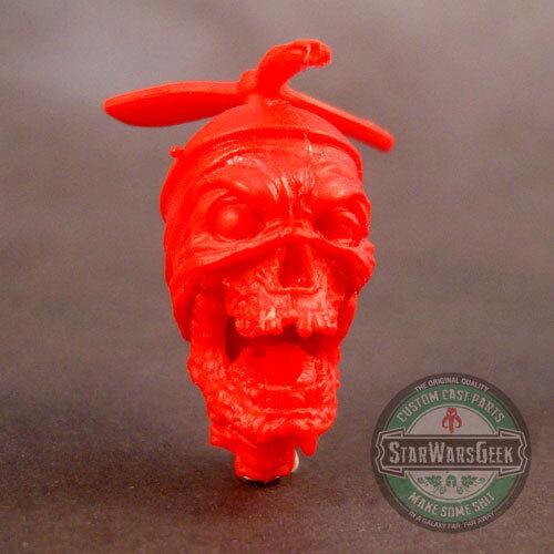 "ML237 Custom Sculpt Cast Headpool Deadpool head use w//6/"" Marvel Legends"