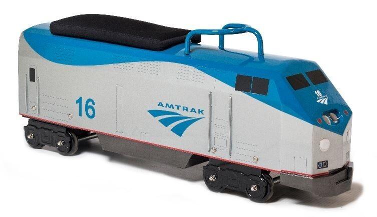 Morgan Cycle Foot to Floor Amtrak P42 General Electric Locomotive Train Engine