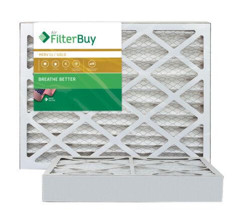 AFB Gold FilterBuy 20x20x4 MERV 11 Pleated HVAC AC Furnace Air Filter