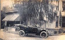 Syracuse NY Moyer 1912 Touring Car Auto Advertising RPPC Postcard