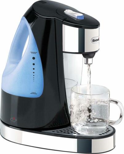 Instant Hot Distributeur d/'eau rapide rapide bouillir éclairante 1.5 L NOIR BRILLANT