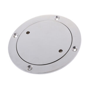 140mm Heavy Duty Stainless Steel Circular Inspection Hatch Boat Deck Plate