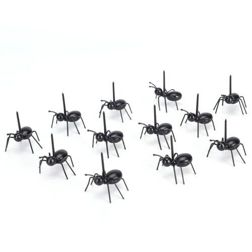 12pcs//Set ant fruits fourchette Eco friendly cuisine en plastique bar Tx
